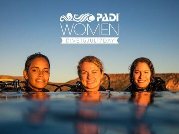 "PADI ""WOMEN'S DIVE DAY 2017"""