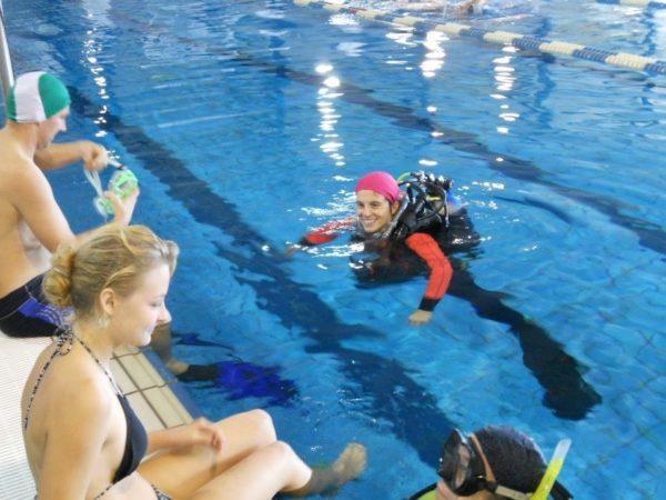 Prove Subacquee in piscina 27 Settembre 2015